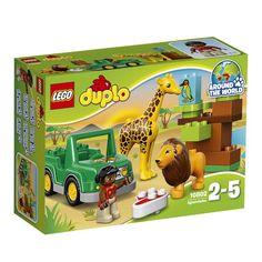 Lego duplo 10802 вокруг света: африка