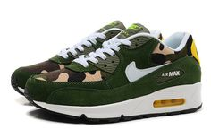 Women's And Men's Nike Air Max 90 Lovers Canvas Green Zebra-Stripe|only US$89.00 - follow me to pick up couopons.
