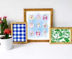 Summer art prints!