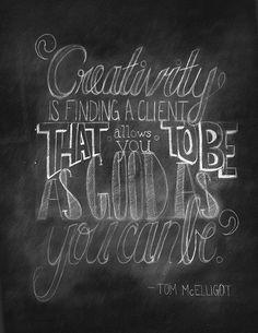 Tom McElligot #advertising #quote