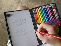 Homemade DVD Coloring Case