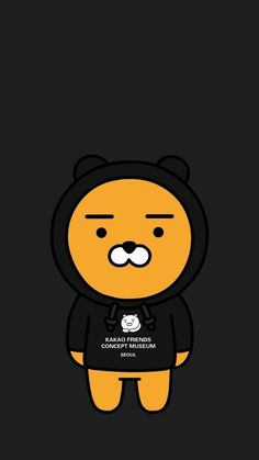 Adidas Iphone Wallpaper, Walpaper Iphone, Cute Illustration, Character Illustration, Ryan Bear, Kakao Friends, Lines Wallpaper, Friends Wallpaper, Homescreen Wallpaper