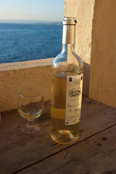 Une bouteille de Cassis à Montredon