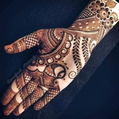 Full Mehndi Designs, Henna Tattoo Designs Simple, Latest Bridal Mehndi Designs, Stylish Mehndi Designs, Mehndi Designs For Beginners, Mehndi Designs For Girls, Mehndi Design Photos, Wedding Mehndi Designs, Mehndi Designs For Fingers