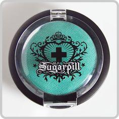 Mochi Pressed Eyeshadow by Sugarpill Cosmetics. Matte mint seafoam. $12.