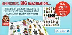 LEGO Minifigure for only £9.99  #TBPLEGOShop #LoveLEGO #LEGOSavings