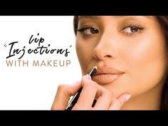 """Cosmetics USA - """"Lip Injections"""" with Makeup Makeup Blog, Makeup Tips, Makeup Tutorials, Beauty Makeup, Shay Mitchell Makeup, Olivia Jade, Makeup For Moms, Lipstick Tutorial, At Home Face Mask"""