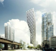 BIG architects residential tower
