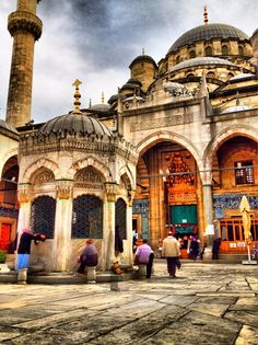 Mosque in Istanbul Istanbul is an amazing city.beautiful sights to see, lovely people, fabulous cuisine, and so much history! Places Around The World, Oh The Places You'll Go, Places To Travel, Places To Visit, Around The Worlds, Blue Mosque, Islamic Architecture, Turkey Travel, Place Of Worship