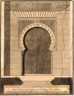 Las piezas de la Puerta de los Siete Suelos Granada, Islamic Architecture, Old Pictures, Santa Fe, Morocco, Spanish, Louvre, Altar, Building