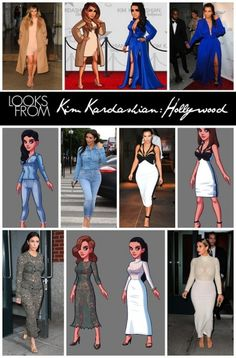 Real Looks from Kim Kardashian Hollywood Kim Kardashian Hollywood Game, Bustier Outfit, Hollywood Fashion, Hollywood Style, Blake Griffin, Black Art Pictures, Los Angeles Clippers, Night Club, Kendall Jenner