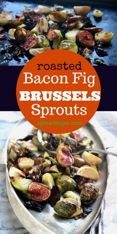 Brussels Sprouts Bacon Recipe from Spinach Tiger Keto, Low Carb Recipe Fig Recipes, Sprout Recipes, Spinach Recipes, Bacon Recipes, Dairy Free Recipes, Vegetable Recipes, Real Food Recipes, Healthy Recipes, Healthy Food