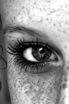 Beautiful! Look at those freckles! I hope she is a red head too! .Wow Gorgeous