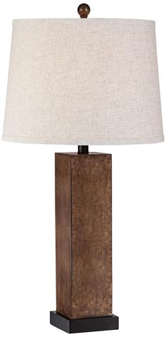 parrish square column modern table lamp - Modern Table Lamp