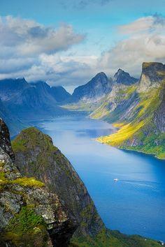 Fjords by Maciej Markiewicz on 500px