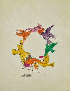 pinkpagodastudio: Andy Warhol ChristmasMore Pins Like This One At FOSTERGINGER @ PINTEREST No Pin Limitsでこのようなピンがいっぱいになるピンの限界