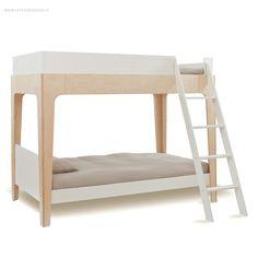 Il letto a castello Oeuf ha una struttura modulare e funzionale, offrendo grande flessibilità di configurazione grazie alla possibilità di dividerlo in due letti, uno a soppalco e uno singolo. L'ingombro compatto rende questo lett ...