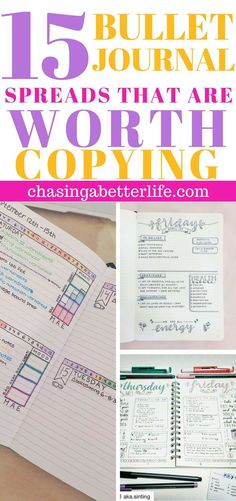 journal ideas for school Bullet Journal: 1 Steal Worthy List These bullet journal ideas are THE BEST! I'm so happy I found these GREAT bullet journal tips! Now I have some great bullet journal hacks that I can use!