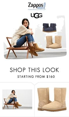 """""""The Icon Perfected: UGG Classic II Contest Entry"""" by renate-knutsen ❤ liked on Polyvore featuring UGG, ugg and contestentry"""