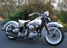 Photo of 1946 Harley FL Knucklehead Classic Motorcycle by Dave Iversen.