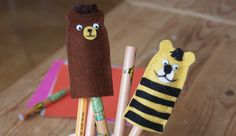 Janosch Fingerpuppen Basteln Post Für Den Tiger, Crafts For Kids, School, Html, Scouting, Uni, Advent, Google, Theater