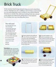 Miniature Brick Truck Tutorial