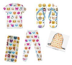 """""""Emoji everything"""" by kkiscute on Polyvore"""