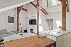 Attic Interior Design of an Apartment in Gliwice by Superpozycja Architekci-05