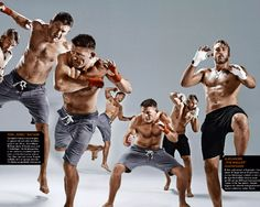 Das haut voll rein!   JETZT bei Readly lesen:  Men's Health MUSCLE 02/2016 - Seite 31