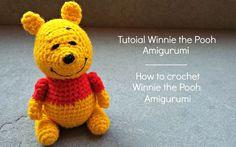 Tutorial Winnie the Pooh Amigurumi | How to crochet Winnie the Pooh Amig...