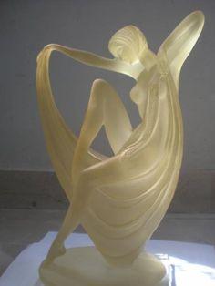 Art Deco Figurine.