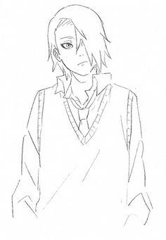 Tags: Anime, Akatsuki, NARUTO, Deidara, Alternate Hairstyle, Sweater Vest, Mannmaruu