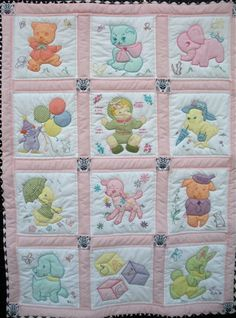 Best representation descriptions: Related searches: Baby Quilt Patterns,Baby Boy Quilt,Baby Quilts to Make,Baby Girl Quilts,Easy Baby Quilt. Quilt Baby, Cot Quilt, Baby Quilt Patterns, Baby Girl Quilts, Girls Quilts, Applique Patterns, Applique Quilts, Children's Quilts, Baby Quilt Tutorials