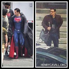 "Superman...or Clark Kent? ""Both. Yeah, both is good."""