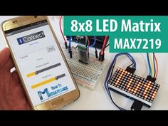 8x8 LED Matrix MAX7219 Tutorial with Scrolling Text & Android Control via Bluetooth - HowToMechatronics