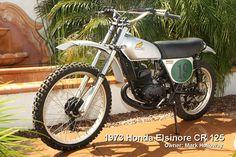 1973 Honda Elsinore CR125 One of my very first favorite bikes....