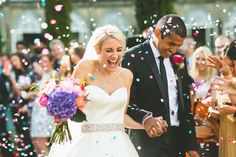 Image by Tobiah Tayo - Sezincote Estate Wedding Culture Fusion Wedding Augusta Jones Tobiah Tayo Photography Bright Colour Scheme