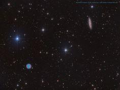 The Owl and the Galaxy :  via NASA js