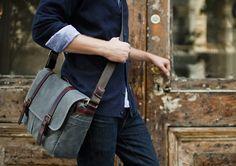 ONA | The Brixton - Camera and laptop messenger bag