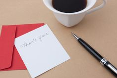 The Found Art Of ThankYou Notes