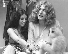 "Maureen and Robert Plant--Led Zepplin Front Man Plant & His Wife Somehow Survived Wild Days & Nights With ""Zep"" Touring & Trashing Motel Rooms & the Sudden Death of A Son...A Stunning Couple From Rock's Royalty World..."