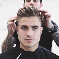 Pentear os penteados modernos para homens