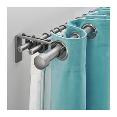 RÄCKA/HUGAD Triple curtain rod set - IKEA $27.84, blackout curtain, translucent, non translucent