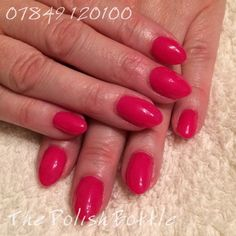 Gelish Gossip Girl over GHG (Gelish Hard Gel) extensions