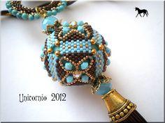 beaded bead #beadwork