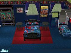 Spiderman Bedroom Set
