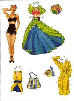 Pert N Pretty 1948 revised - Debbie - Picasa Web Albums My favorite set of paper dolls from my childhood. I still have them!