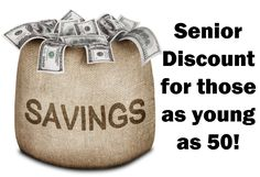 Senior Discount for Those As Young As 50 - https://www.swaggrabber.com/?p=269044