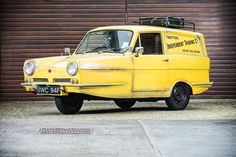 The iconic, yellow Reliant Regal three-wheeler from 'Only Fools and Horses' has been consigned by Silverstone Auctions to its two-day classic car sale at the Lancaster Insurance Classic Motor Show at the Birmingham NEC on 11th and 12th November.