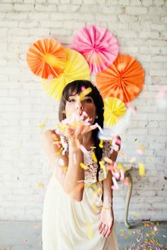 neon bridal fashion / Amanda Watson